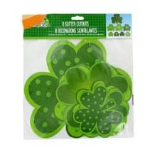 St. Patrick's Day Decorations (St. Patrick's Day Glitter Wall Decorations#3)