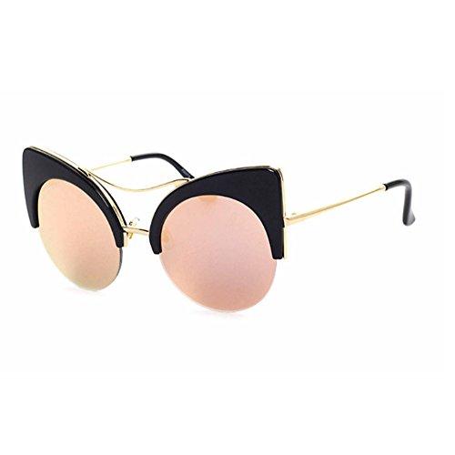 Aoligei Hommes et femmes américano-européen réflectorisé réfléchissant lunette de soleil rue lunettes de tir 61FQLYFZo