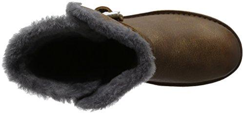 Shabbies Amsterdam Buckle Strap Short Boot 17cm Merino Lammy Lining Alexia, Botines para Mujer Marrón - Braun (Africa)