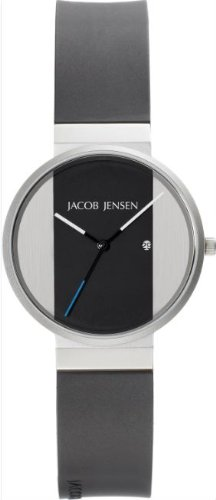 Jacob Jensen 712 Mens New Two Tone Watch