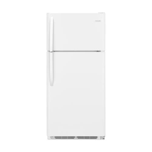 Frigidaire FFHT1821TW 30″ Freestanding Top Freezer Refrigerator with 18 cu. ft. Total Capacity, Crisper Drawer, in White
