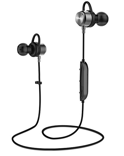 [for Music Lover] Bluetooth Headphones| Arbily Y3 Magnetic Wireless Earbuds with Crystal Sound | IP67Waterproof Noise-Cancelling Sport in-Ear Earphones with Mic | 8 Hours Play Time, Secure Fit