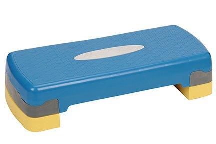 Exercise Aerobic Stepper. Non Slip Skid Durable Adjustable Height