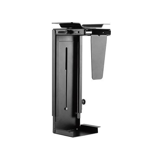 KRIËGER KPC06 360° Swivel Adjustable Under Desk or Wall Desktop PC Mount - Black