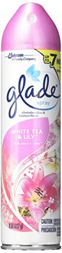 - Glade Spray44; White Tea & Lily44; 8 Oz.44; Pack Of 6