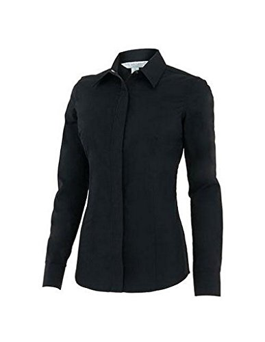 Noble Outfitters Western Perfect Fit Show Shirt (Black, Medium) Ladies Show Shirt