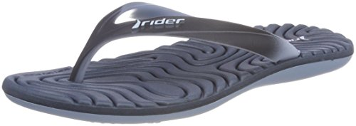 Rider Women's Smoothie Iv Fem Flip Flops Multicolour (Blue 8022) 81XkUdZN