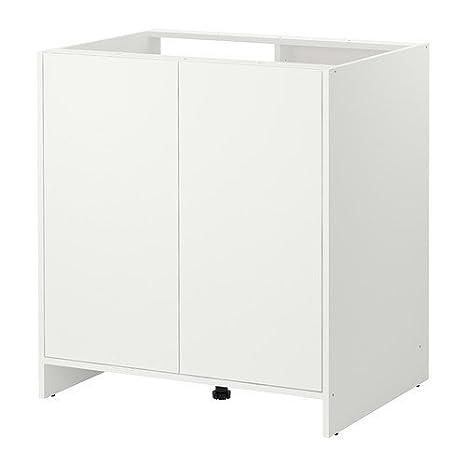 Ikea Pensile da cucina per lavastoviglie, con ante, colore: bianco ...
