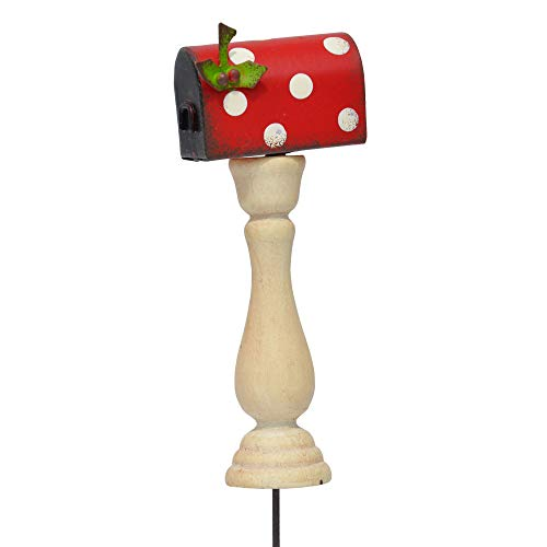 Studio M Christmas Mailbox for Miniature Garden, Fairy Garden