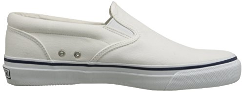 Striper Slip-on Sneaker White