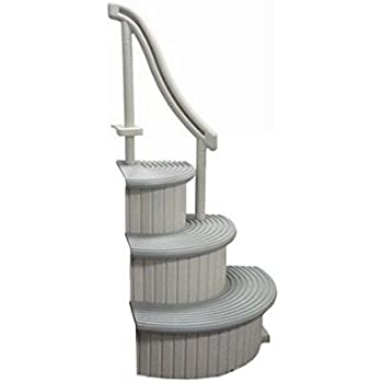 Amazon.com : Confer In Ground Swimming Pool Curve Step