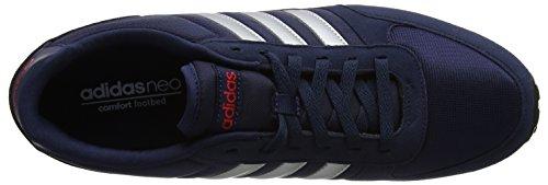 para Collegiate Hombre Scarlet City Gimnasia Silver de Neo Azul Adidas Racer Zapatillas Matte Navy g1CyOUcSYq