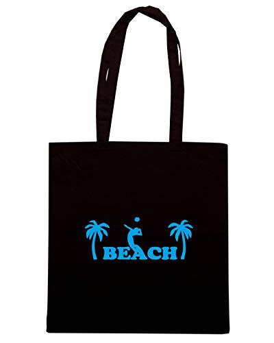 VOLLEYBALL BEACH Nera Shirt SP0039 Borsa Shopper Speed nqHFwXYaH