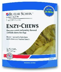 - Butler Enzy Oral Care Chews for Dogs 26-50 lbs - 30 Chews