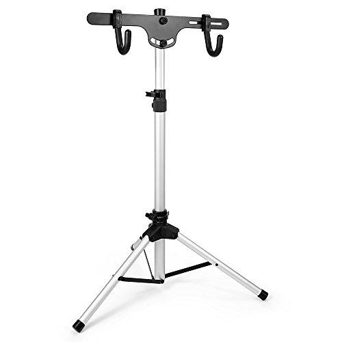 Dulcii Telescopic Bicycle/Bike Rack Stand, Freestanding Bike Stand Storage Rack, Adjustable Height: 27.3-51.5 Inch Review