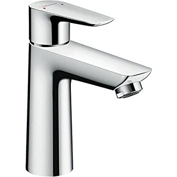 Hansgrohe talis e single hole chrome lavatory faucet touch on bathroom sink faucets Hansgrohe logis loop single hole bathroom faucet