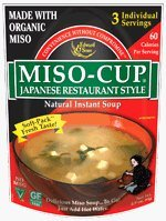 Edward & Sons Japanese Restaurant Style Miso Cup Soup -- 2.9 oz