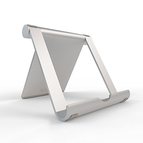 TechMatte iPad Stand, Multi-Angle Aluminum Desktop Phone Sta