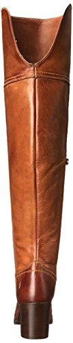 Frye Kvinner Kendall Over Kneesfg Ingeniør Boot Cognac-75425