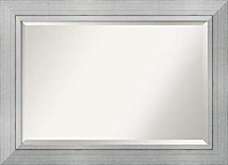 Framed Mirrors for Wall | Romano Silver Mirror for Wall | Solid Wood Wall Mirrors | Large Wall Mirror 43.25 x 31.25 (B00T90ULXI) | Amazon price tracker / tracking, Amazon price history charts, Amazon price watches, Amazon price drop alerts