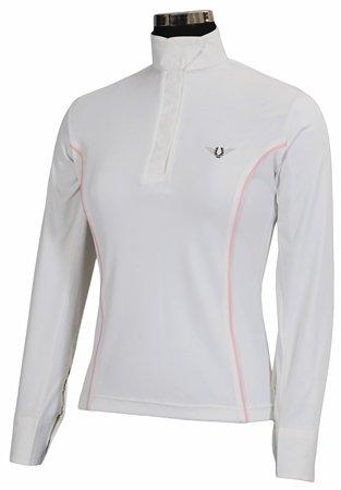 祝開店!大放出セール開催中 TuffRider Kwik Women 's Kirby B00993OERY Kwik Dry長袖Showシャツ Women B00993OERY White/Pet Pink 3X, ヤナイヅチョウ:14ccc127 --- svecha37.ru