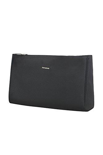 (SAMSONITE Cosmix - Cosmetic Pouch L Toiletry Bag, 33 cm, Black)