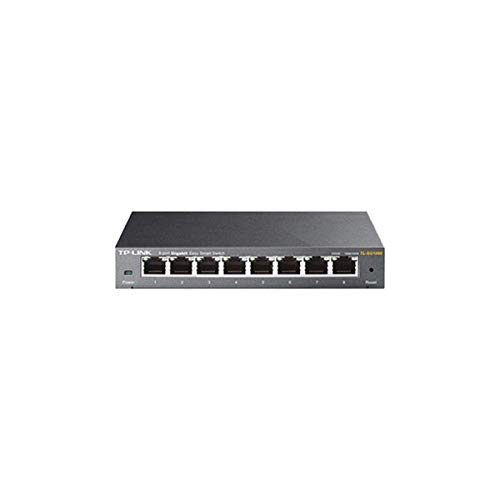 TP-LINK TL-SG108E 8-Port Gigabit Easy Smart Switch (TL-SG108E)
