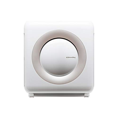 Coway AP-1512HH Mighty Air Purifier with True HEPA and Eco Mode in White (Best Place For Air Purifier In Bedroom)