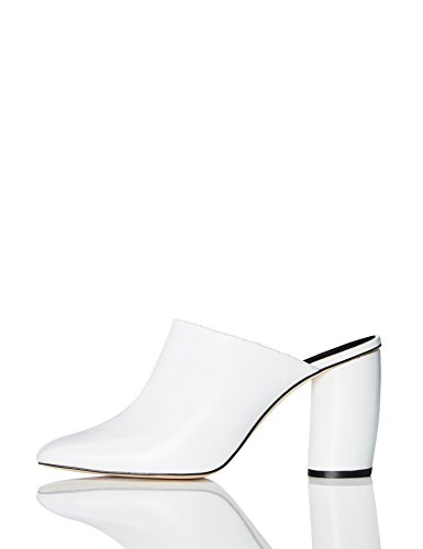 Marque-Amazon-find-Mules-en-Cuir--Talons-Cylindriques-Femme