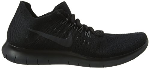 013 Flyknit Nike 2017 Noir Black RN WMNS de Chaussures Femme Running Anthracite Free 7w7R6H