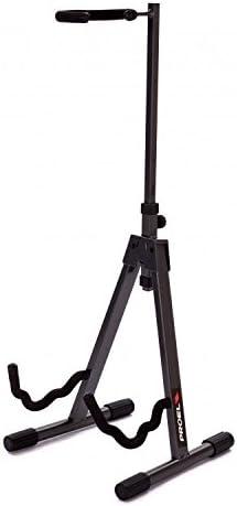 Proel FC720 - Soporte universal para bajo, guitarra eléctrica, guitarra clásica y acústica con brazos universales, Gris carbón