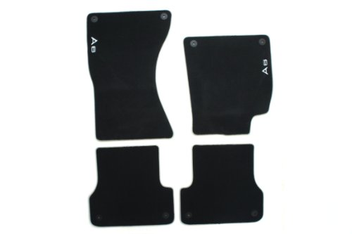 Audi A6 Interior - Genuine Audi Accessories 4G1061270MNO Premium Carpeted Floor Mat, (Set of 4)