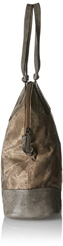 Sansibar - Shopper Bag, Borse a secchiello Donna Marrone (Mud)
