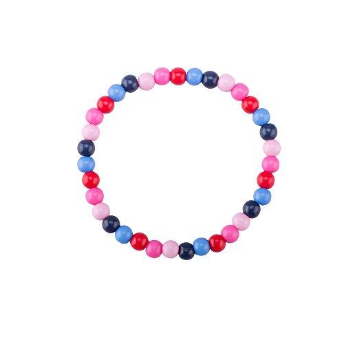 Kids Jewelry Bracelet Set – Pearl Flower Beads for Girls – Children's Jewelry Set