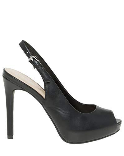 LE CHÂTEAU Leather-Like Peep Toe Slingback - Leather Peep Toe Slingbacks
