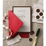 Gartner Studios(R) Cms Correspondence Kit, 4 1/2In. X 6 1/2In, 142 Lb, Red, Pack Of 20