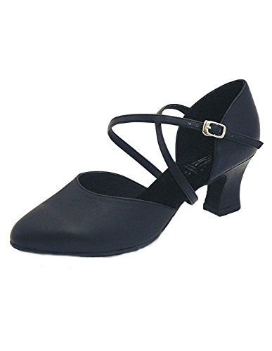 Anceta Roch Black Valley Dance 5 Track Shoes 6cm Latin Heel FpSpqv5w