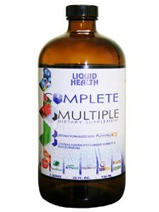 Complete Multiple 32oz [Pack of 4] by Liquid Health Products