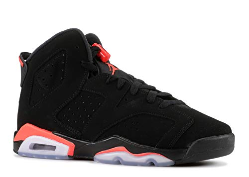Nike Youth 2019 Air Jordan 6 Retro 384665 060 Black/Infrared (6y)
