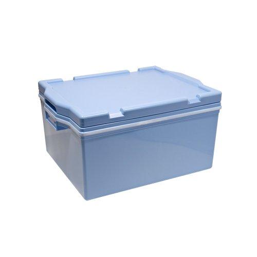 PLASTIC BLUE RICE CONTAINER