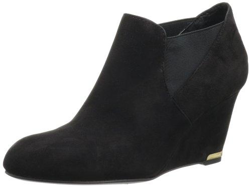 Bandolino Women's Thistle Bootie,Black Suede,11 M ()