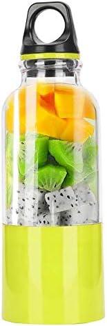 500ML Smoothie Blender USB Oplaadbare Juicer Cup Fruit Juicer Automatic Tool Juice Maker voor reizen voor sportgreen