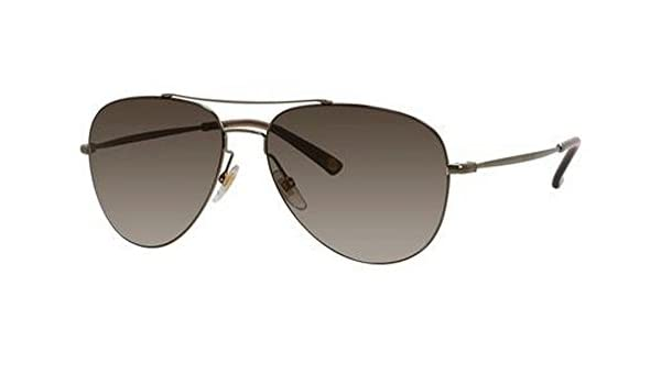 fe3ce2eb9f Amazon.com  Gucci Sunglasses - 2245   Frame  Shiny Olive Lens  Brown  Gradient  Clothing