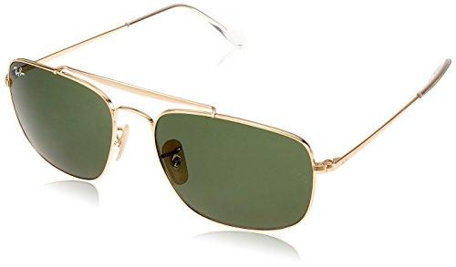 THE de 001 GOLD COLONEL Ray RB3560 Ban sol Gafas qB0wpxTEx