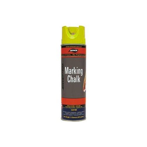 Aervoe 218 Yellow Spray Chalk 20-oz. Aerosol