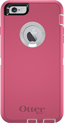 Cheap Cases OtterBox DEFENDER iPhone 6 Plus/6s Plus Case - Retail Packaging - HIBISCUS..