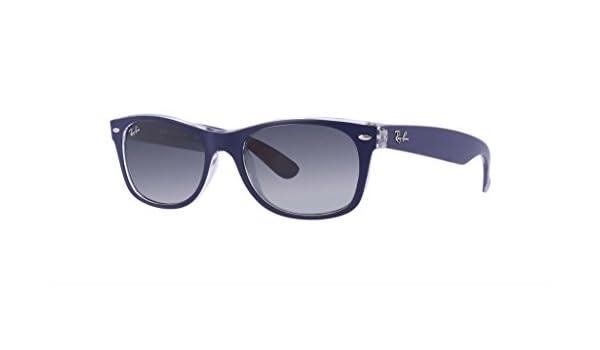 6a9f5ef88d Amazon.com  Ray-Ban RB2132-605371 NEW WAYFARER Sunglasses Blue ...