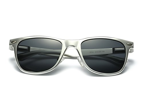 TOOSBUY Premium Classic Aviator UV400 Sunglasses with Options for Flash Mirror and Polarized Lens - Hut Sunglasses Singapore
