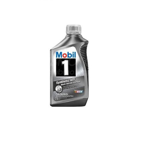 Mobil 1 112980 Synthetic Automatic Transmission Fluid - 1 Quart (Pack of 6) by Mobil 1