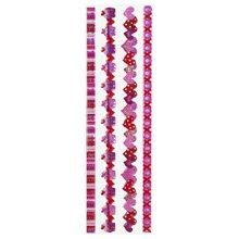 Sticko EK Sticker Epoxy Border Valentine Ribbon